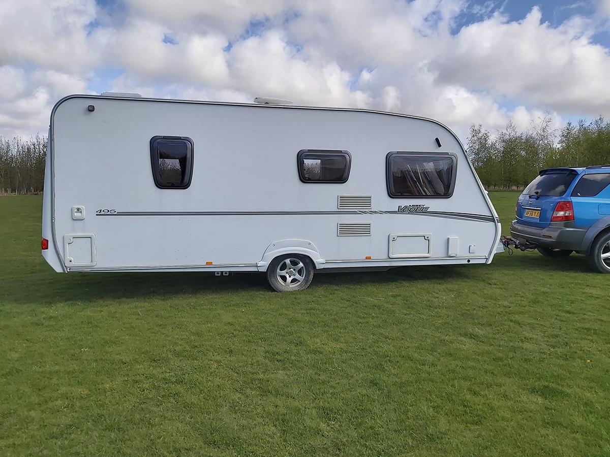 4 berth Caravans for Hire