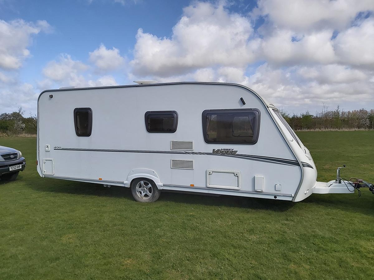 4 berth Caravan for hire