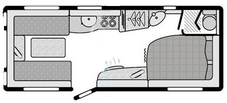 Typical 4 Berth layout