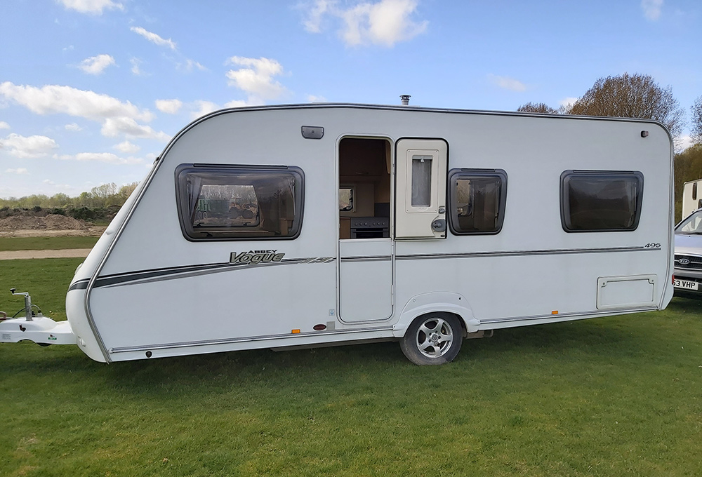 4 Berth Caravan for Hire