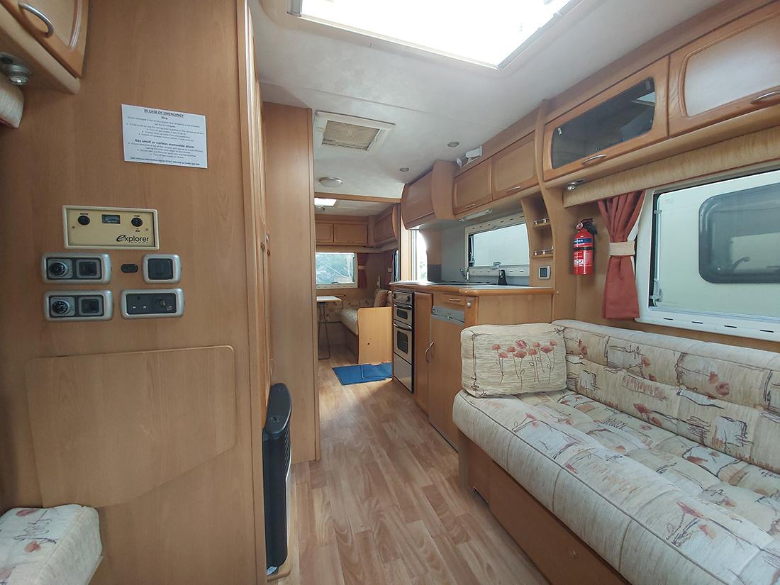 5 berth caravan for hire