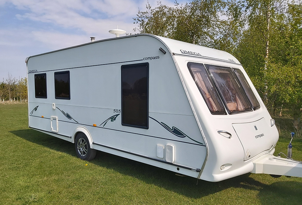 5 Berth Caravans for hire