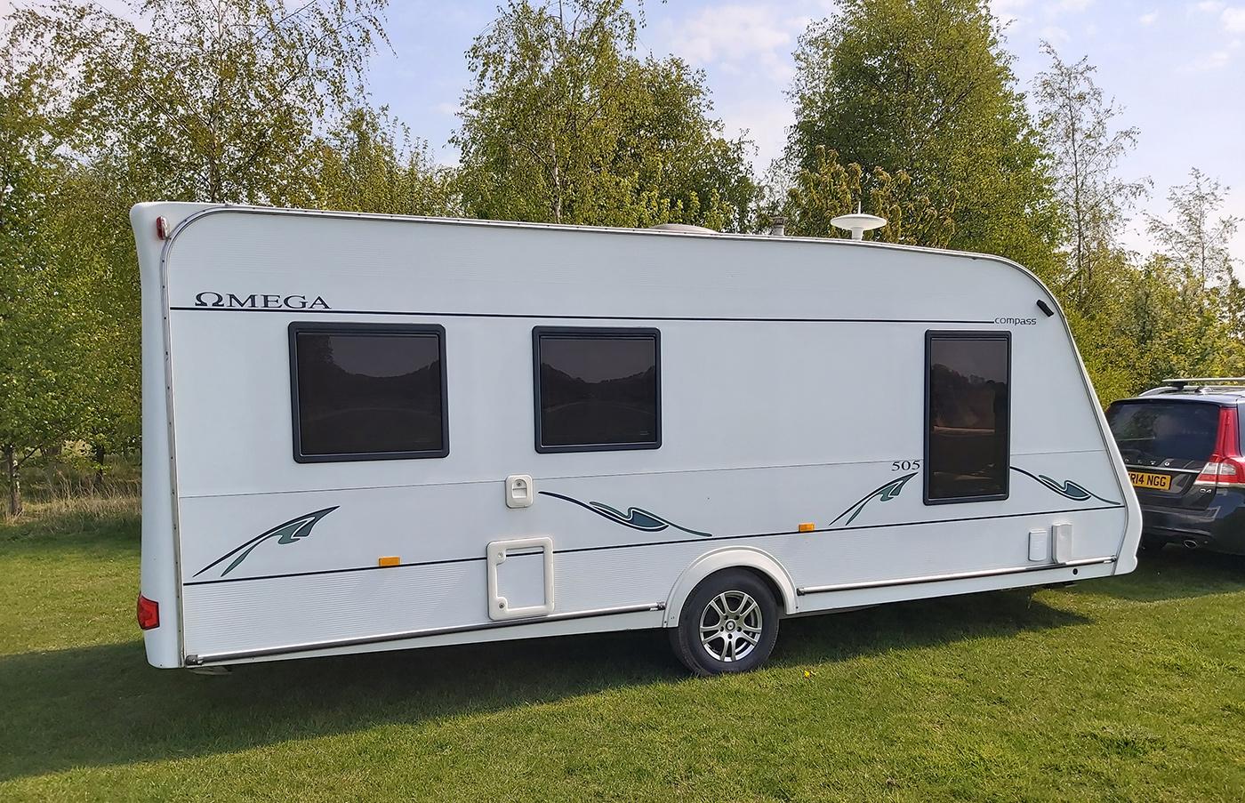 5 berth Caravans for Hire