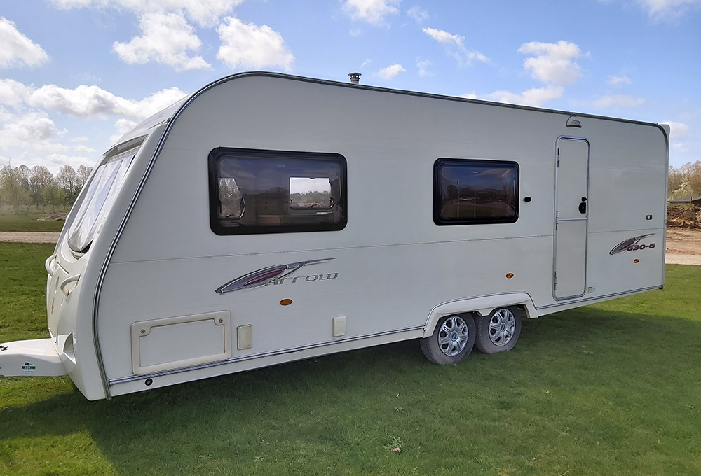 6 Berth Caravans for hire