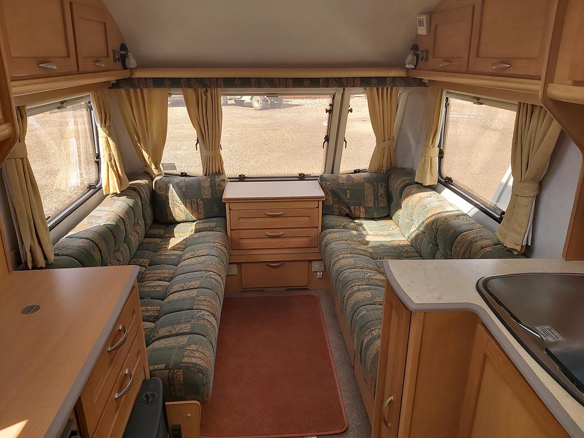 2 berth caravans for hire