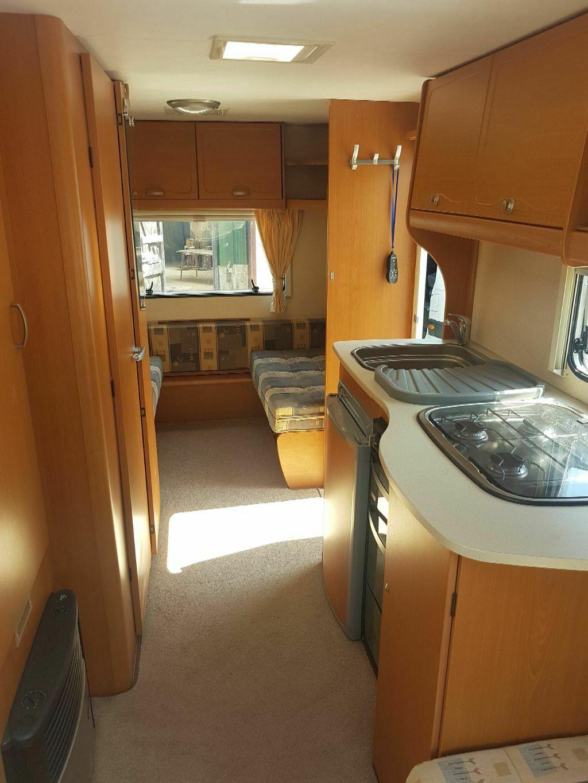 5 berth lightweight caravan